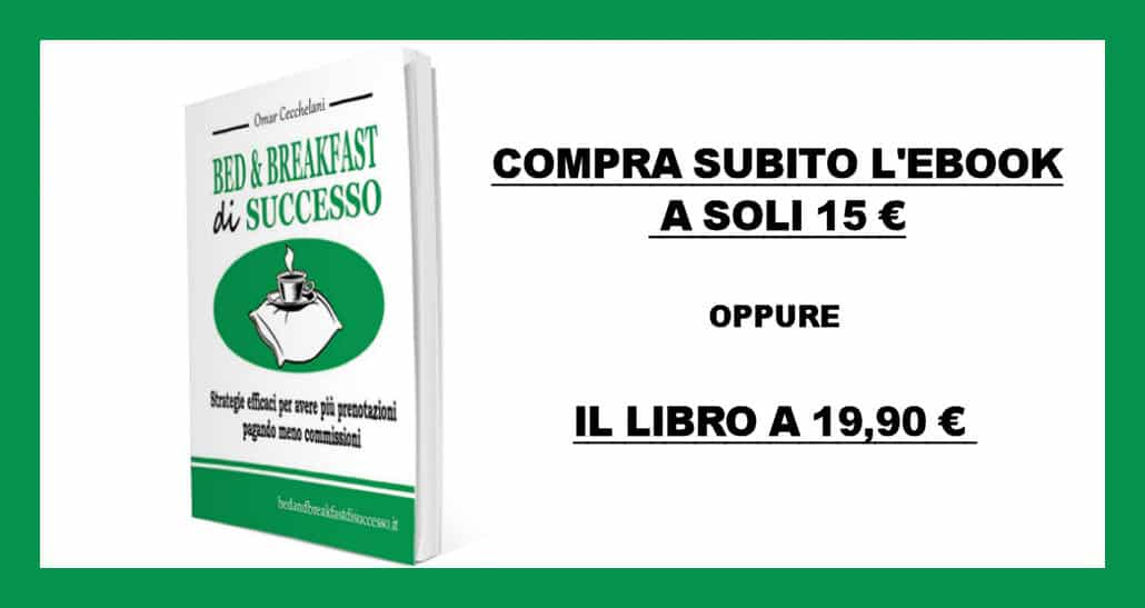 libro bed and breakfast di successo