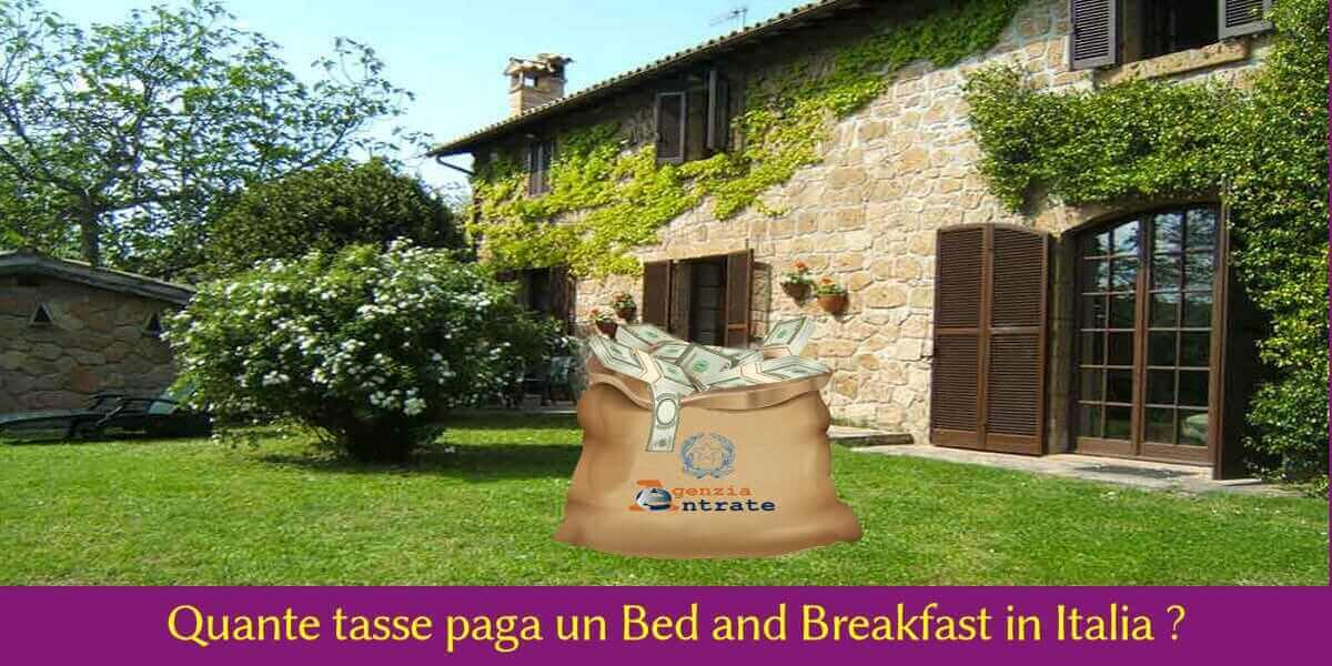 spese bed and breakfast