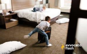 Danni alla stanza d'albergo