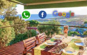 pubblicizzare casa vacanze su Facebook e Google